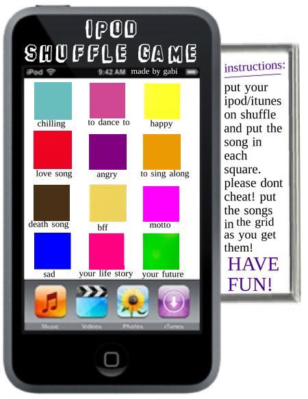 ipod shuffle game
