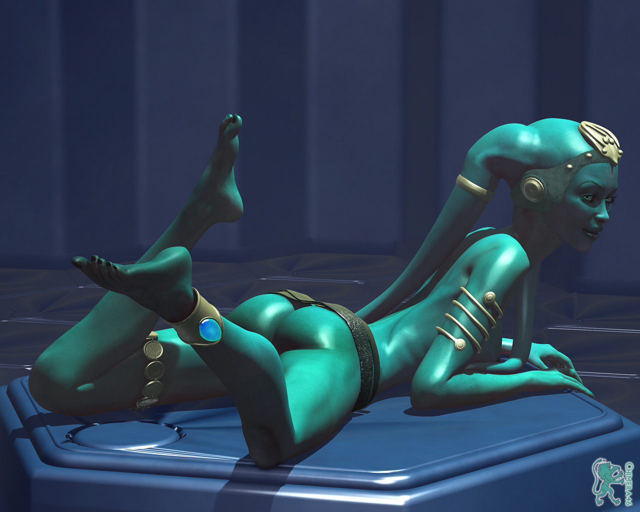 Sex with a twi'lek xxx scene