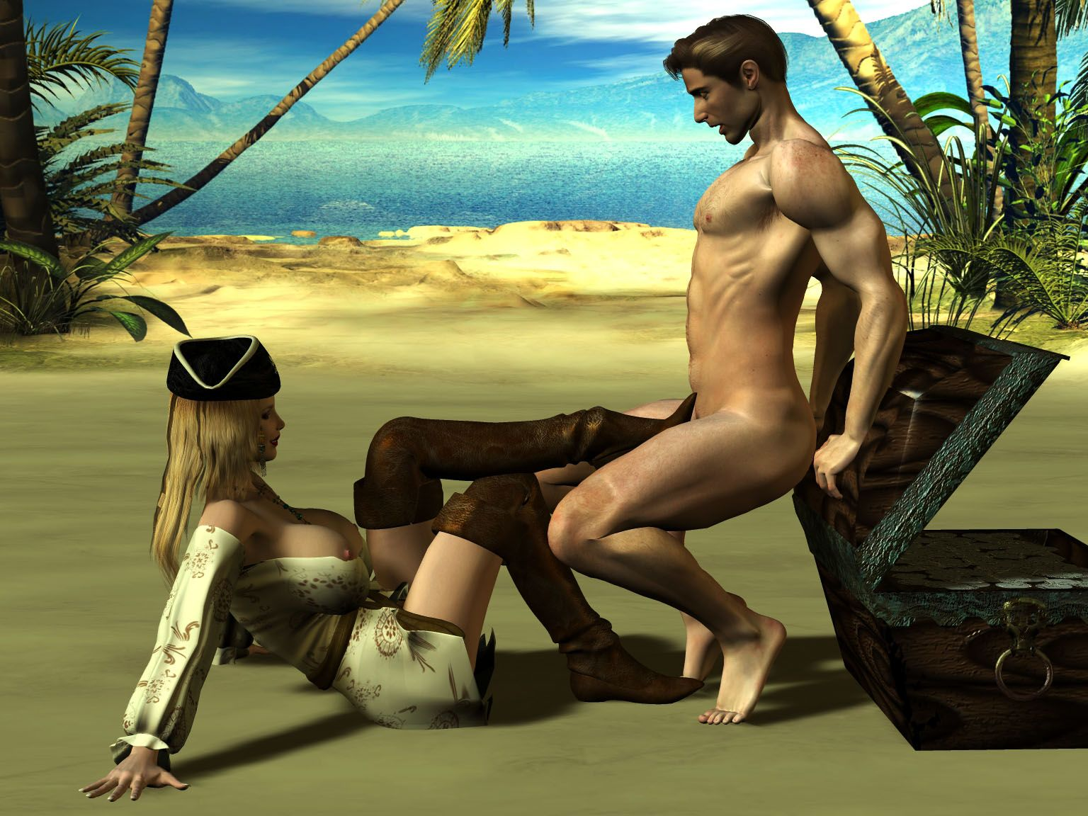 Porn pirate 3d sex xxx download