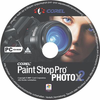 Corel paint shop x2