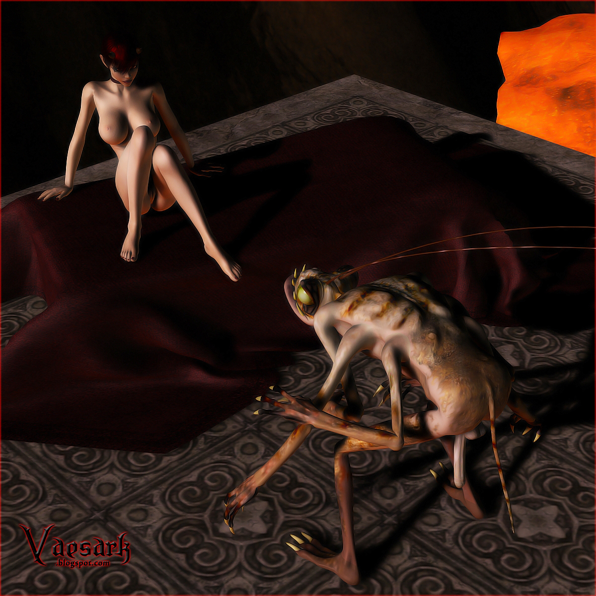 3d insect breeding woman erotic clips