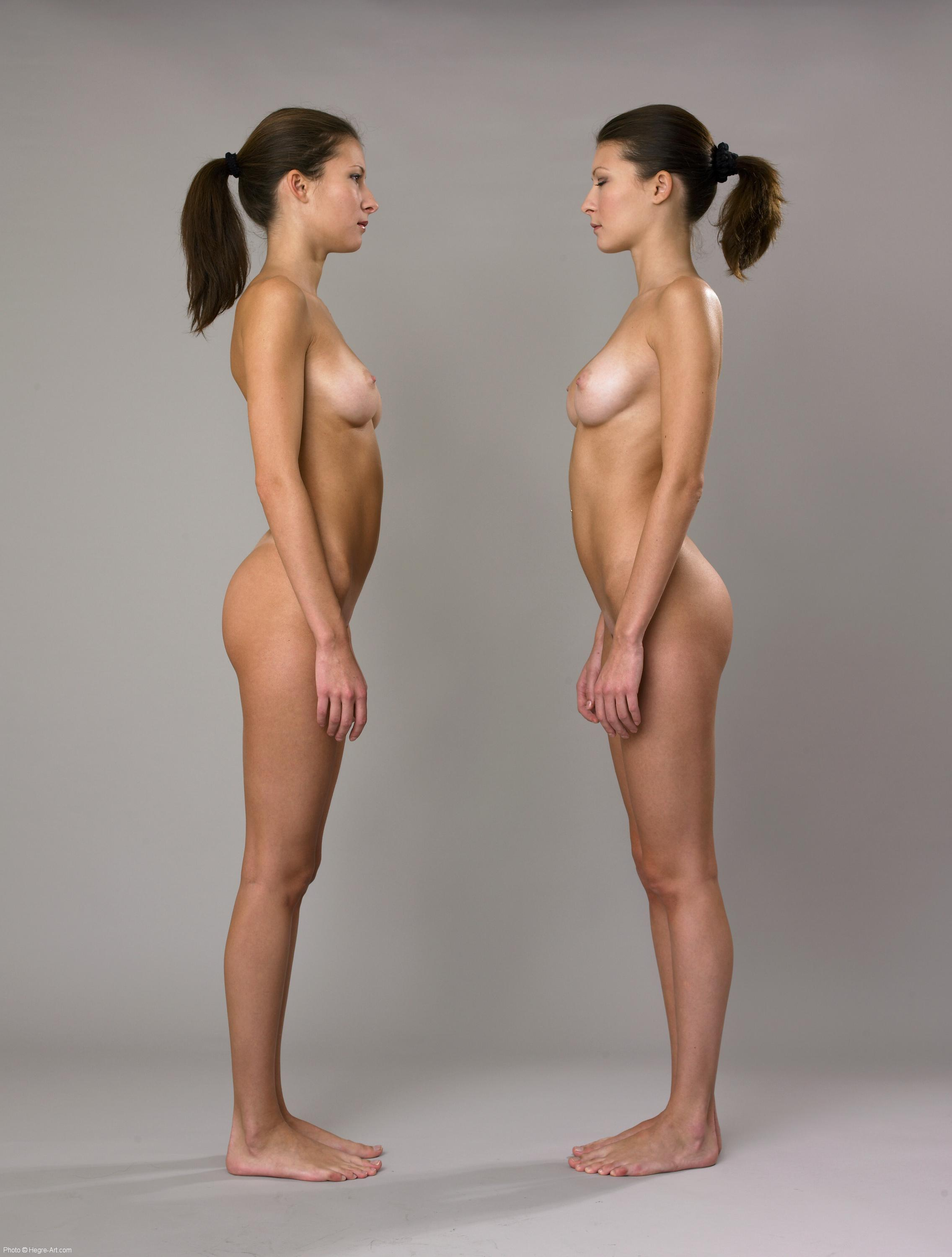 Think, that Female twins back to back naked that