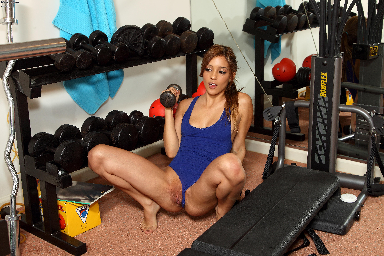 Фитнес без трусов