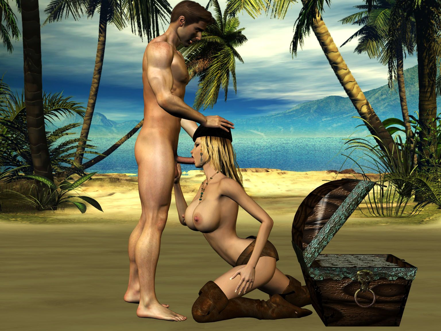 Naked pirate girl image hentia comics
