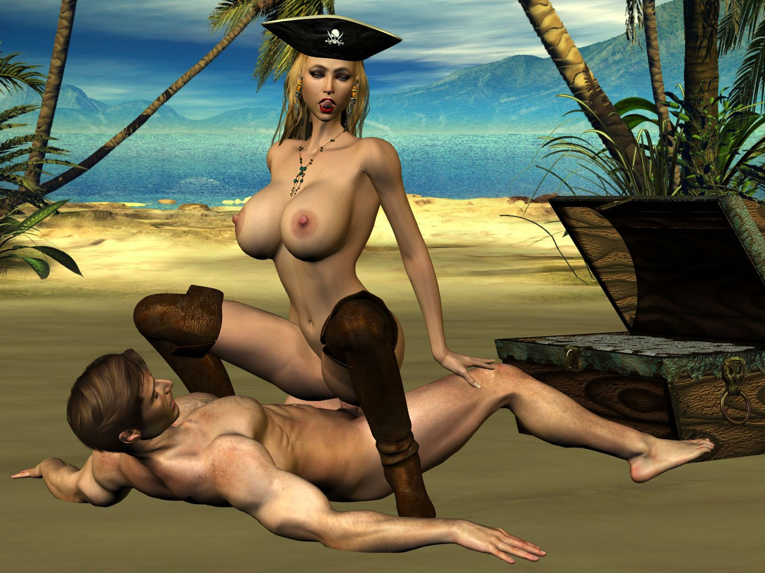 Pirate porn fantasy porncraft scene
