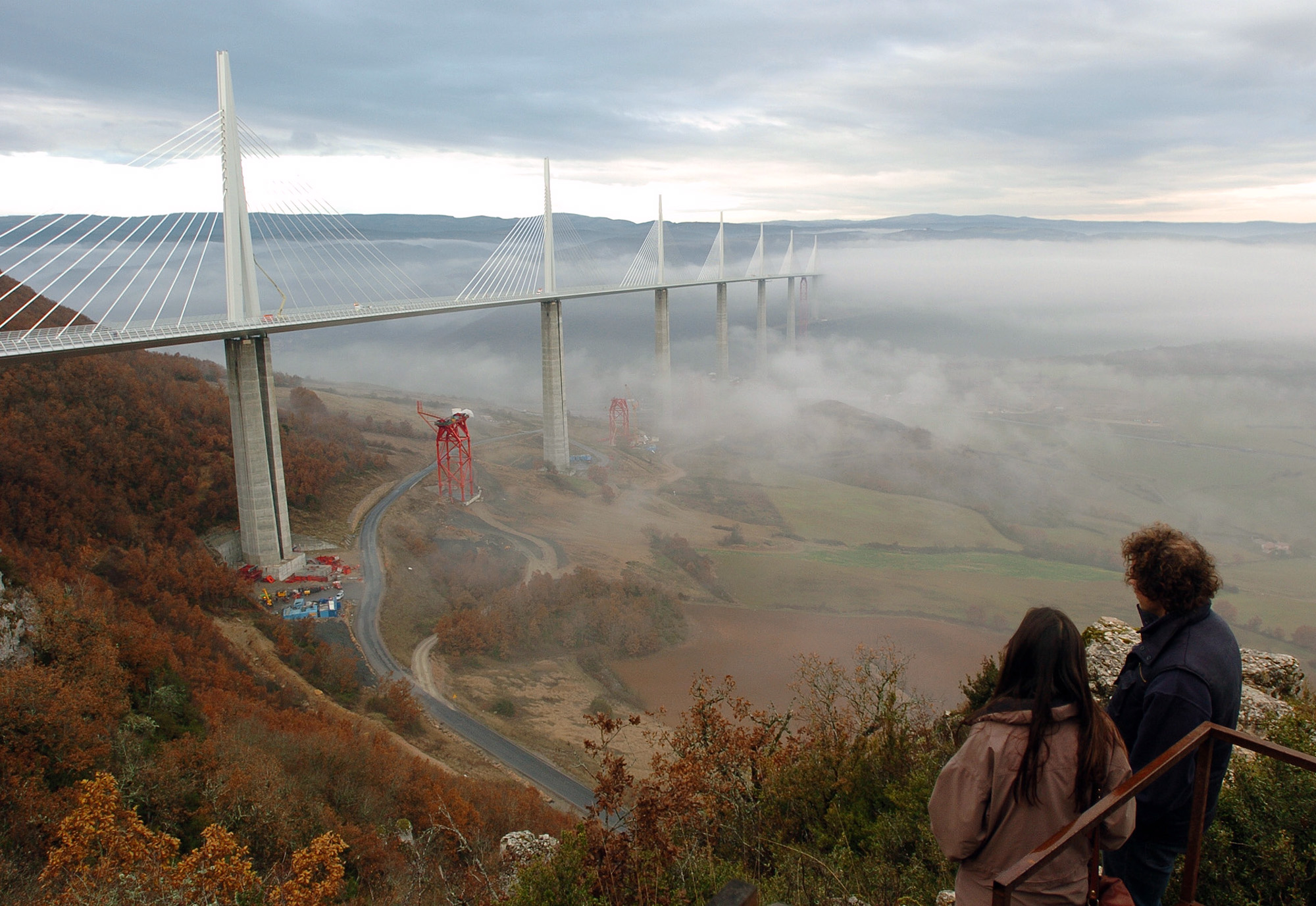 Millau France  City new picture : Millau bridge France Millau bridge France 102208 Free Image ...