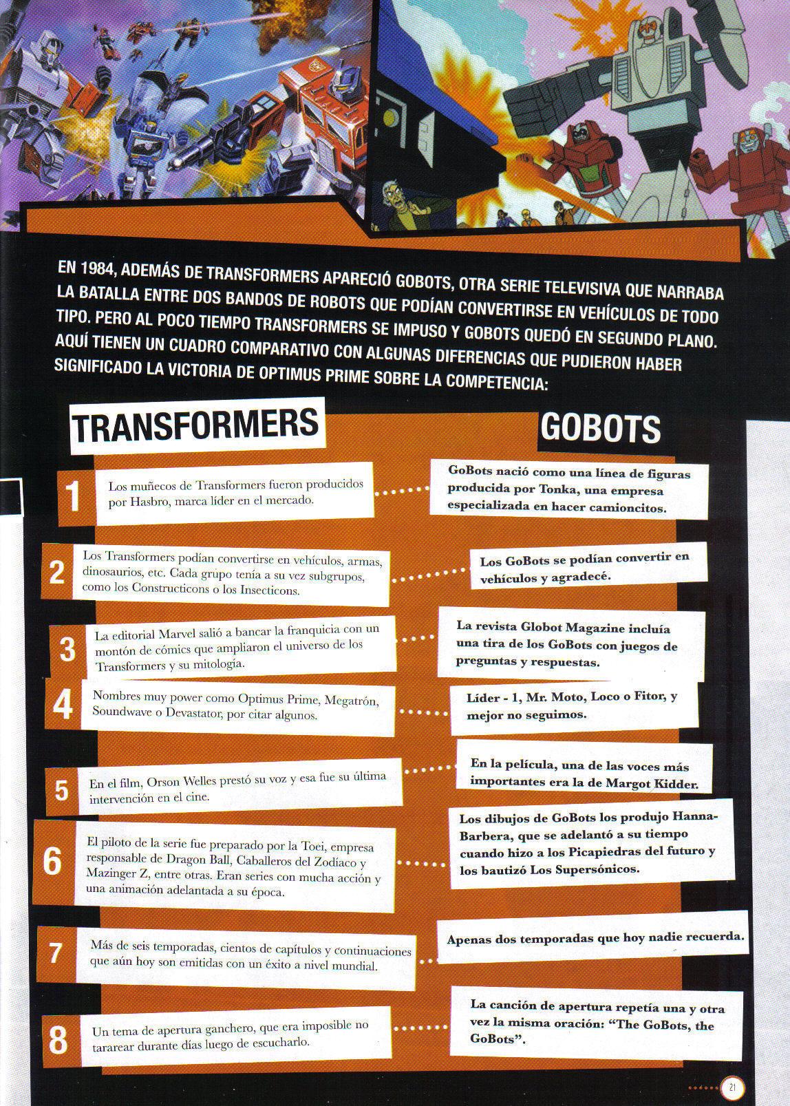 La Cosa ROTF Tfs Go Bots