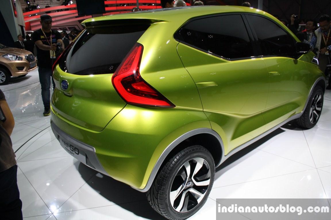 Datsun redi GO concept rear three quarter live