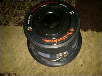 Rockford Fosgate Power HXRFR312-ohm Dual Voice Coil